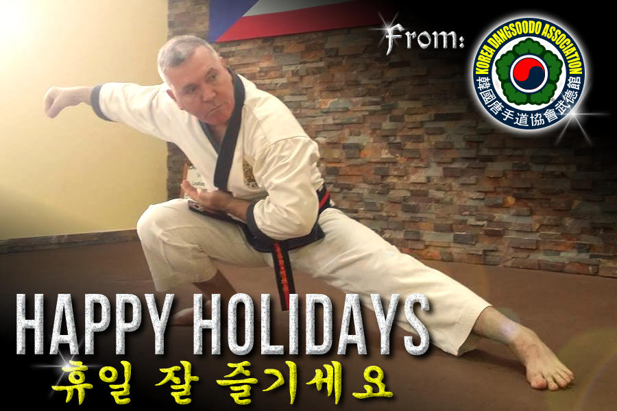 Happy Holidays from the Korea Dangsoodo Association